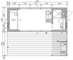 Mini House Floor Plans mini house 2 0 tiny house jonas wagell sweden floor plan