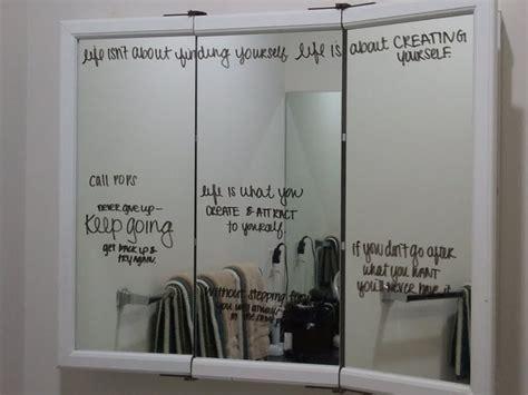 bathroom mirror quotes mirror writing quotes quotesgram
