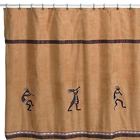 72 x 72 shower curtain avanti kokopelli 72 inch x 72 inch fabric shower curtain