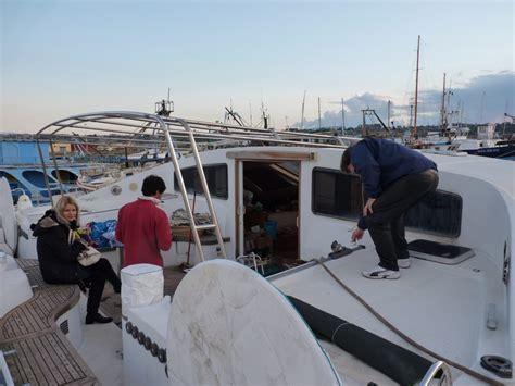 catamaran refit cost catamaran sagittarius resurrected select yachts