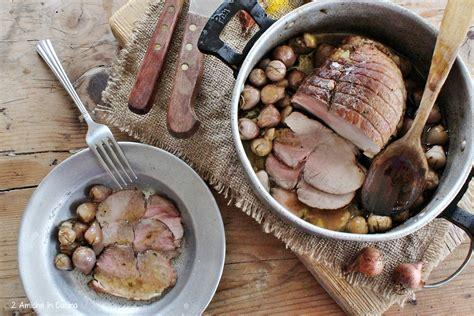 cucinare arrosto di maiale arrosto di maiale con lascioni