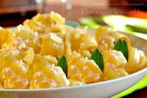 calorie panna da cucina pasta con la ricotta