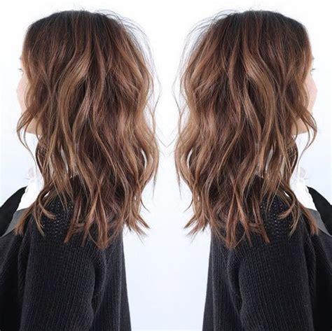 lob haircut dark wavy hair lob haircut thick hair for 2015 newhairstylesformen2014 com
