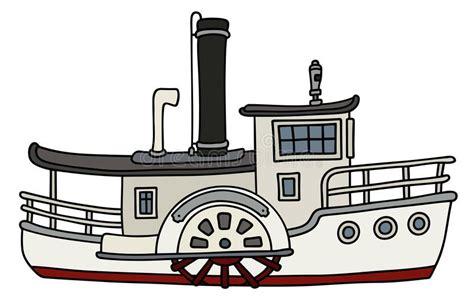 barco a vapor steamboat barco de vapor viejo divertido de la paleta ilustraci 243 n