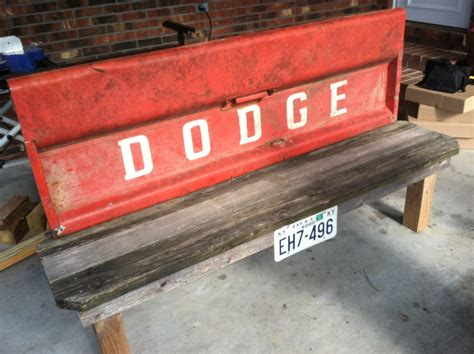 Bench Made From Tailgate Blog Convoy Auto Repair