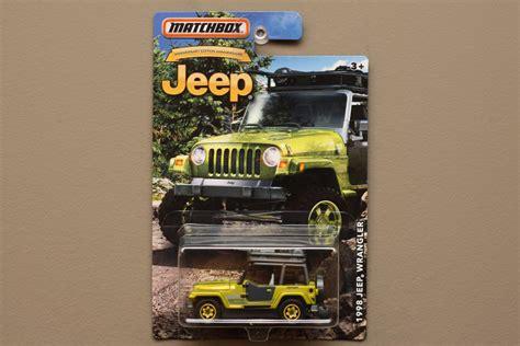 matchbox jeep 2016 matchbox 2016 jeep anniversary edition 98 jeep wrangler