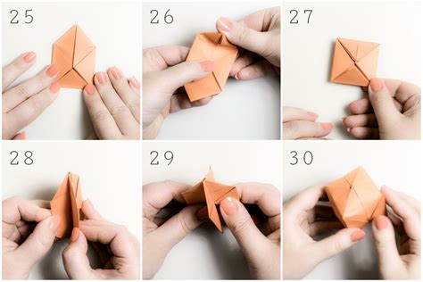 Water Bomb Origami - origami water bomb step by step