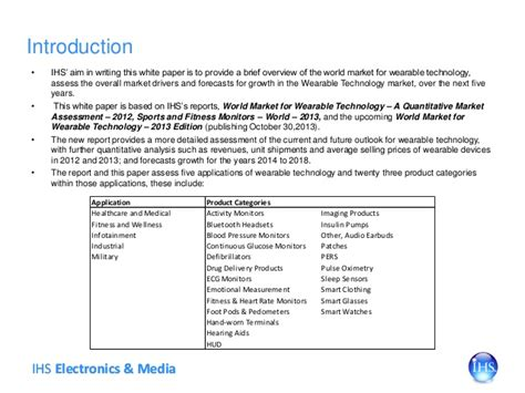 wearable technology research paper wearable technology sep 2013