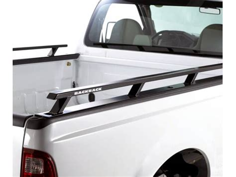 truck bed rail backrack bed rails rugged work truck side rails