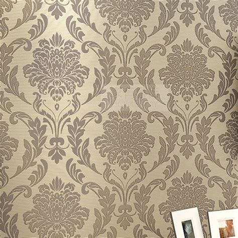damask floral wallpaper luxury 3d wall paper roll europe