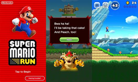 mario for android mario run for android roll out begin ios version get new features the gadgets freak tgf