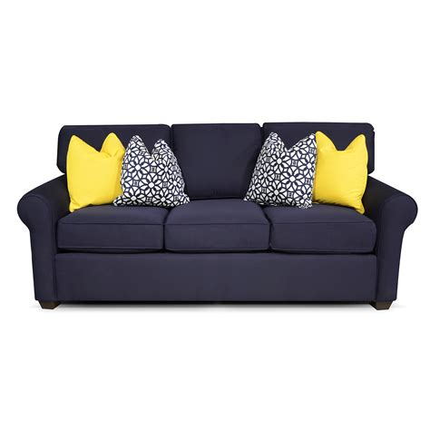 sunbrella sofa sunbrella navy sofa bernie phyl s furniture by