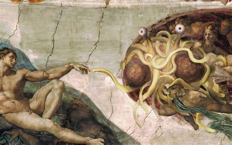 spaghetto volante ivre le monstre en spaghettis volant cr 233 a le monde lutopik