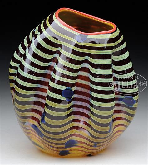 Chihuly Vase by Dale Chihuly Macchia Vase