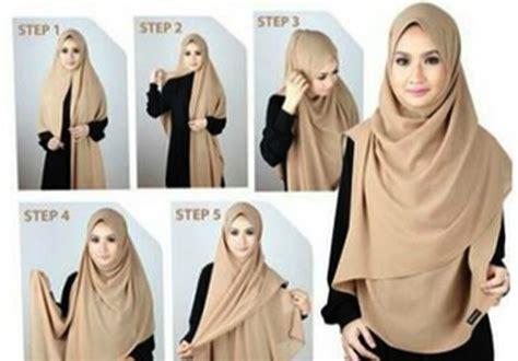 tutorial hijab anak muda kekinian ragam muslim