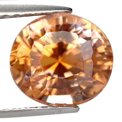 Orangy Pink Padparadscha Spinel 741 gemsroyal