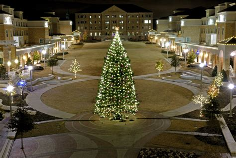 tcu tree lighting 2017 tcu news and events