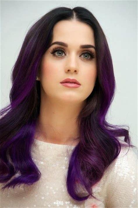 black n purple hair 30 cute purple hairstyle ideas for this season