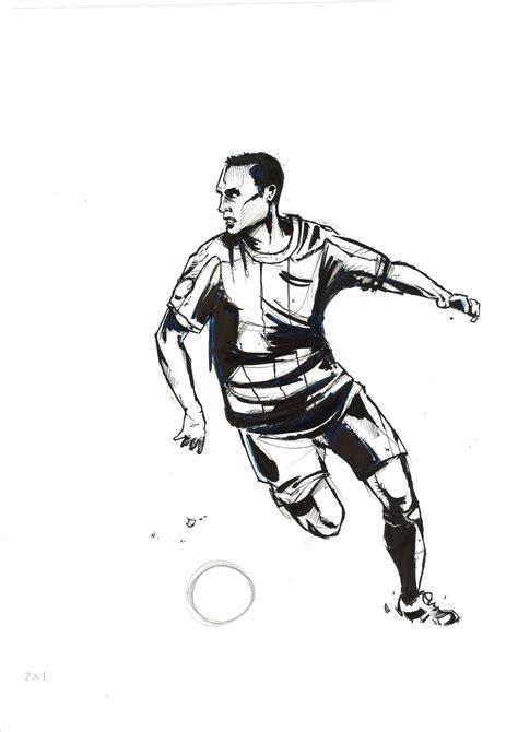 imagenes a lapiz de jugadores dibujos rapidos bocetos y apuntes en papel p 225 gina 30