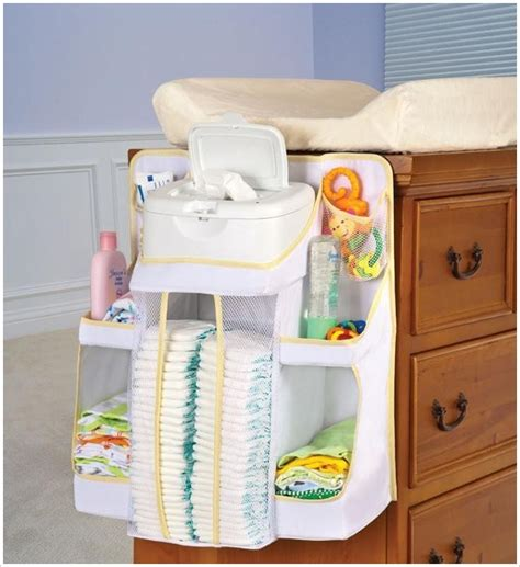 15 Awesome Baby Nursery Storage Ideas Architecture Design Hanging Changing Table Organizer