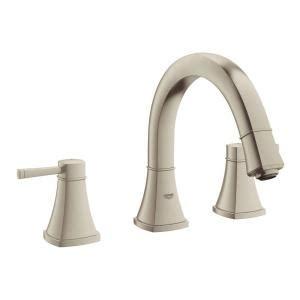 grohe 25048000 atrio faucet roman tub filler lowe s canada grohe grandera 2 handle deck mount roman tub faucet in