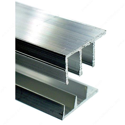 sliding tracks for cabinets sliding door track aluminum richelieu hardware