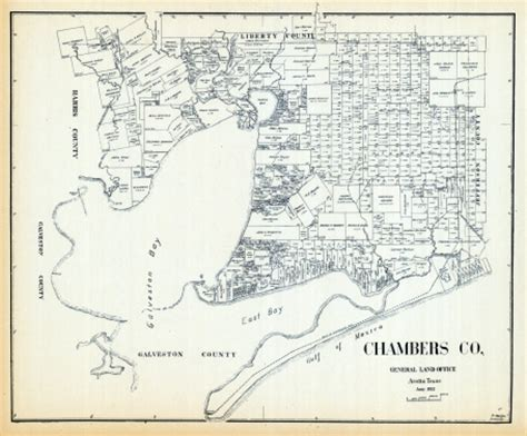chambers county texas map texas 1922 chambers county stock illustration 114356227 getty images