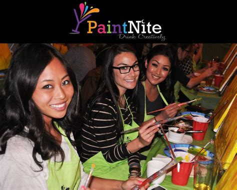 paint nite ques bar 25 for paint nite admission for one at a local bar