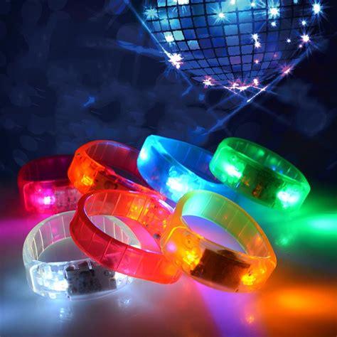 music activated disco lights music activated led flashing bracelet light up bangle