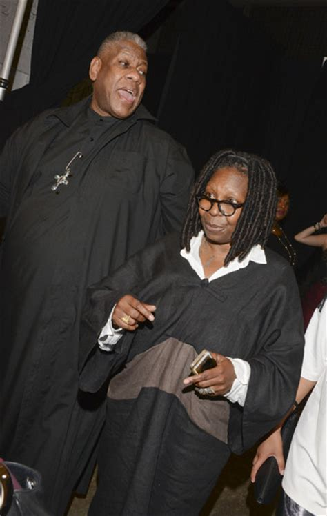 whoopi goldberg boyfriend 2015 whoopi goldberg pictures tracy reese front row