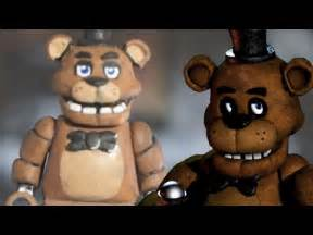 Lego custom freddy fazbear five nights at freddy s minifigure