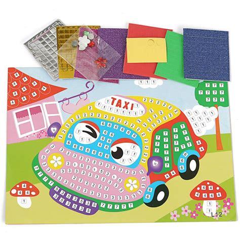 Stiker Edukasi Musim by 1 1 Mainan Edukasi Stiker Mosaik Anak Bisa Pilih Gambar