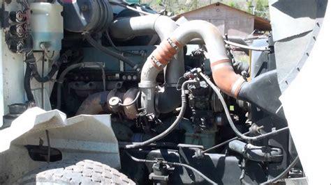 working on a detroit diesel engine bad fuel