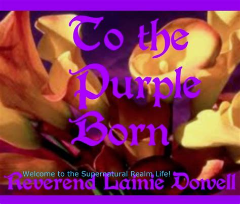 the color purple book blurb to the purple born by reverend lainie dowell religion