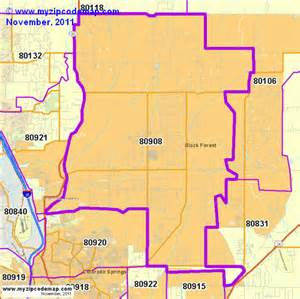 colorado springs co zip code map zip code map of 80908 demographic profile residential