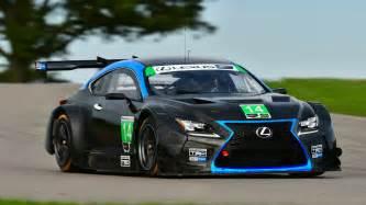 look 3gt racing s lexus rcf gtd hits the track