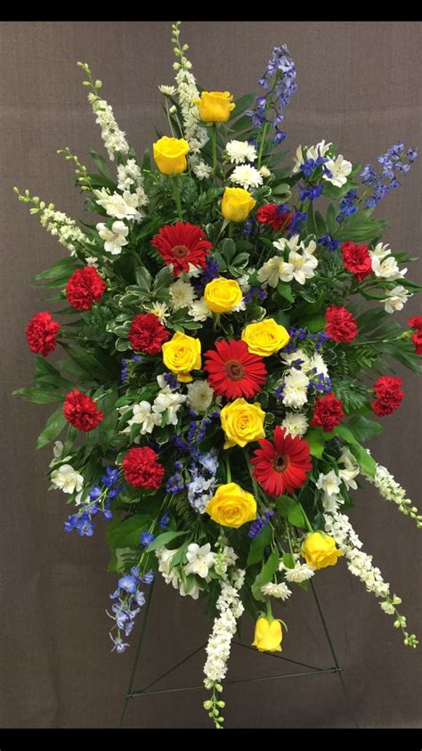 funeral colors 26 best images about funeral flowers on