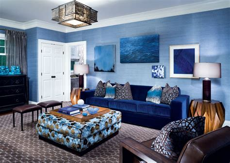 Blue In Living Room by Blue Living Room Decorating Ideas Gen4congress