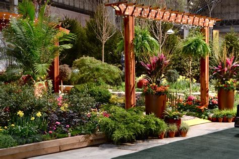 Outdoor Patio Ls Show All by Chicago Flower Garden Show In Bloom Books Literature