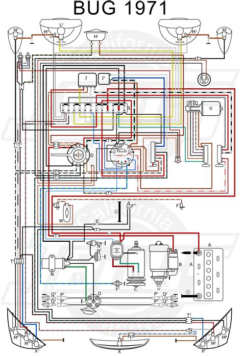 2003 vw bug wiring harness vw bug lights wiring diagram