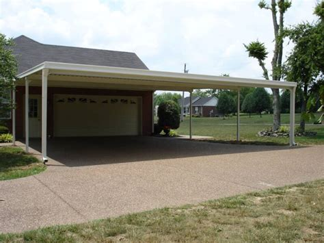Aluminum Car Port by Carport Patio Covers Walkway Diy Carports