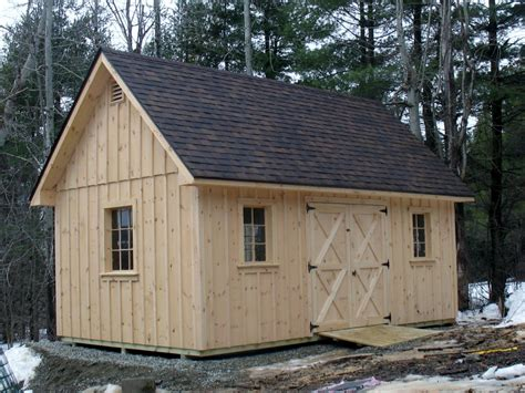 Custom Sheds Vermont Sheds And Barns Custom Built On Site Vermont