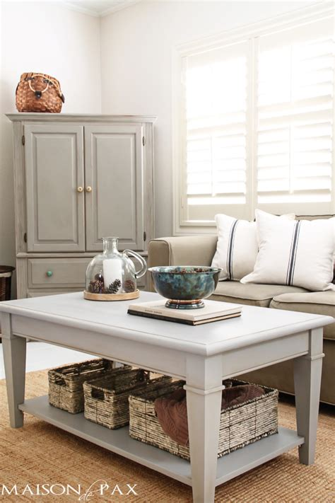 pinterest pictures of yellow end tables with gray gray chalk paint coffee and side table maison de pax