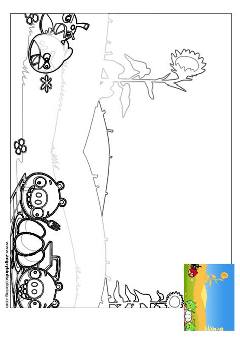 angry birds seasons for coloring 7