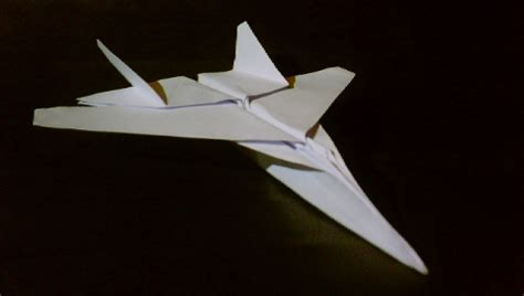 Origami Paper Plane Fighter - origami f15 jet fighter tadashimori flickr photo
