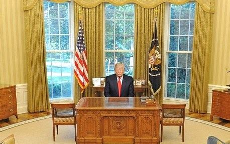 trump in the oval office president elect trump may not be allowed to use oval