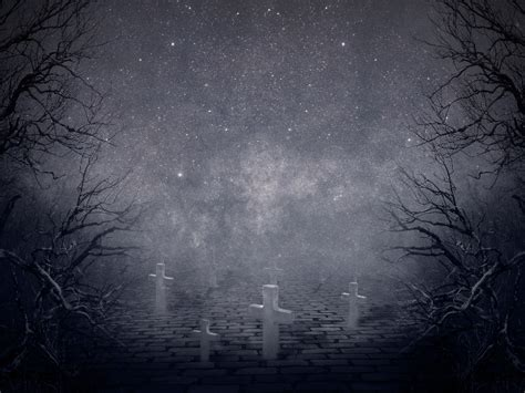 creepy background creepy horror graveyard background free