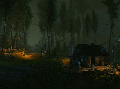cursed forest  creepy cryengine game nerdy
