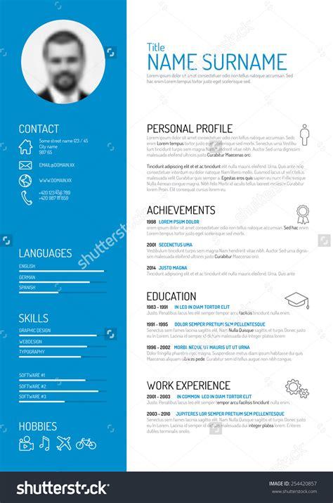 The Cv by Curriculum Vitae Icons Zoeken Inspiratie Cv