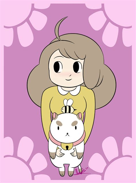 bee and puppy cat bee and puppycat by snowflake owl on deviantart